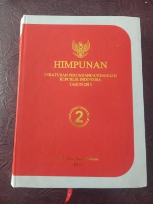 HPPURI JILID II TAHUN 2016